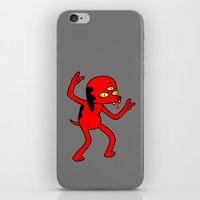 Satan's Little Helper iPhone & iPod Skin