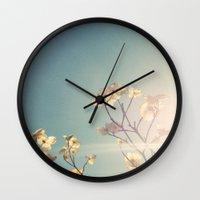 White Light Wall Clock