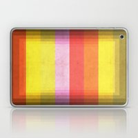 Warm Color Stripes Laptop & iPad Skin