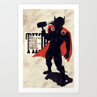 Thor: Call Of Thunder Art Print