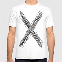 X Marks The Spot Mens Fitted Tee White SMALL