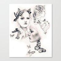 Gemma Ward Canvas Print