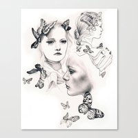 Gemma Ward Canvas Print