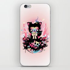 Lucky kitty iPhone & iPod Skin