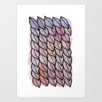 Leaves / Nr. 1 Art Print