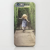 iPhone & iPod Case featuring Alice world 1 by Selma