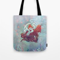 Ocean Jewel Tote Bag
