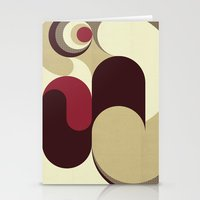5 Colors Composition (#1… Stationery Cards