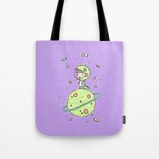 Space Dinosaur Tote Bag
