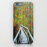 Walkway  In The Woods  iPhone 6 Slim Case