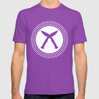 Khukuri Mens Fitted Tee Ultraviolet SMALL