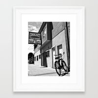 Framed Art Print featuring Community Pub by Vorona Photography