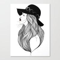 AMIE Canvas Print