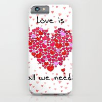 iPhone & iPod Case featuring Love is all we need! by Karma Cases