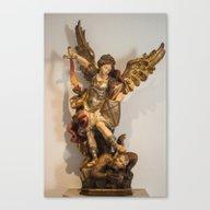 Archange Michel Canvas Print