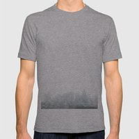 Boston Mens Fitted Tee Athletic Grey SMALL
