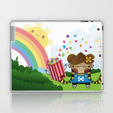 PopCorn can save the world Laptop & iPad Skin