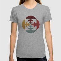 Good Vibratons [Blooms] Womens Fitted Tee Athletic Grey SMALL