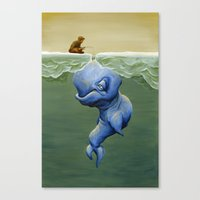 This One's About Greed Canvas Print