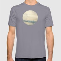 Salty Kisses Mens Fitted Tee Slate SMALL