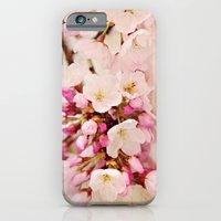 cherry blossoms with typography iPhone 6 Slim Case