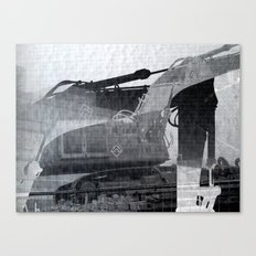 The Deconstruction Canvas Print