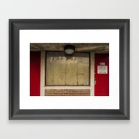 Untitled, Firehouse Wind… Framed Art Print