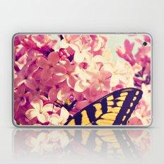 Lilac Monarch Laptop & iPad Skin