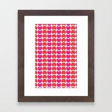 HobNobFucshia Framed Art Print