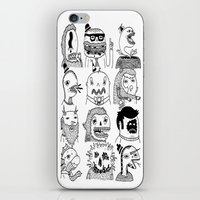 Monster Meet Up iPhone & iPod Skin