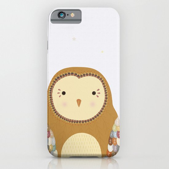 Autumn the Owl iPhone & iPod Case