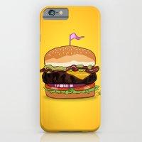 Bacon Cheeseburger iPhone 6 Slim Case