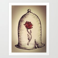 The Rose and the Bell Art Print