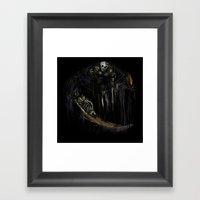 Gravelord Nito - Dark So… Framed Art Print