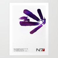 Mass Effect 1 Art Print