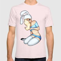 Fionna Without Cake  Mens Fitted Tee Light Pink SMALL