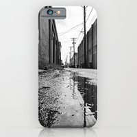 Gritty Tacoma alley iPhone 6 Slim Case