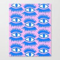 Bold Eyes II Canvas Print