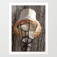 Lamp on Lamp Art Print