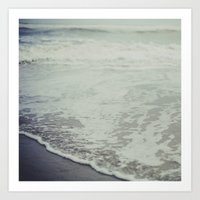 As The Tide Flows Art Print