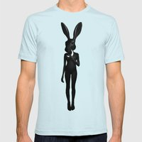 Lepus Mens Fitted Tee Light Blue SMALL