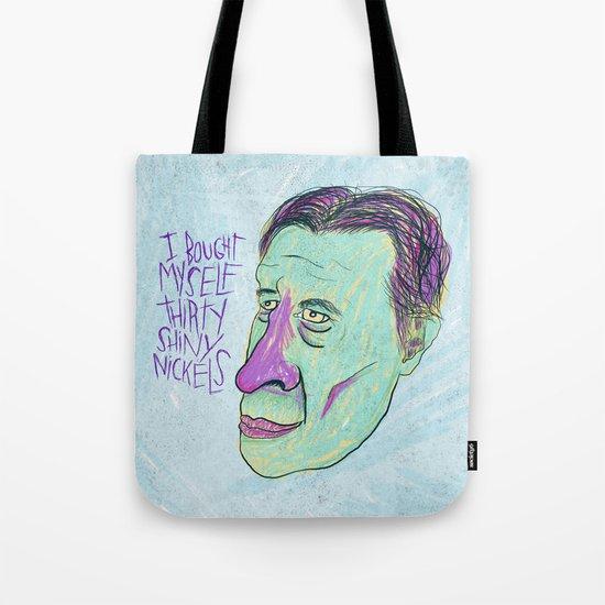SHINY NICKELS Tote Bag