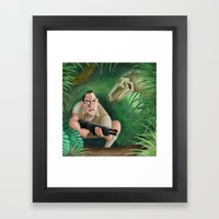 Clever Girl Framed Art Print