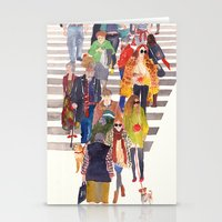 Zebra crossing Stationery Cards