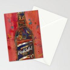 Black Label Bottle Beer Stationery Cards