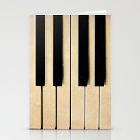 Piano Stationery Cards