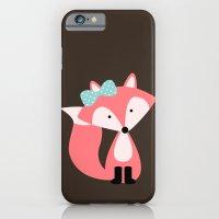 Pink Girl Fox  iPhone 6 Slim Case
