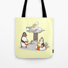Birds of Literacy Tote Bag