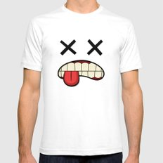 XX SMALL Mens Fitted Tee White