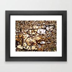 HeadlandRock4a Framed Art Print